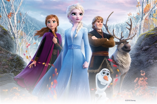 Disney Frozen 2 Enchanted Lands Activation at Gateway