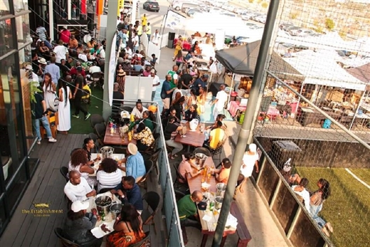 THE ALEX COOKOUT : THE BEER GARDEN EXPERIENCE