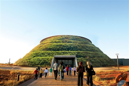 THE CRADLE OF HUMANKIND VISITOR CENTRE - MAROPENG